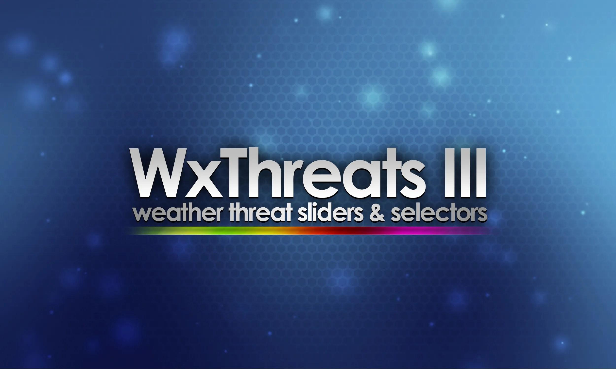 WxThreats III