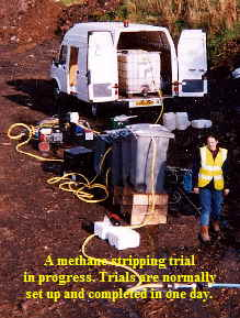 Methane Stripping Trial Equipment image