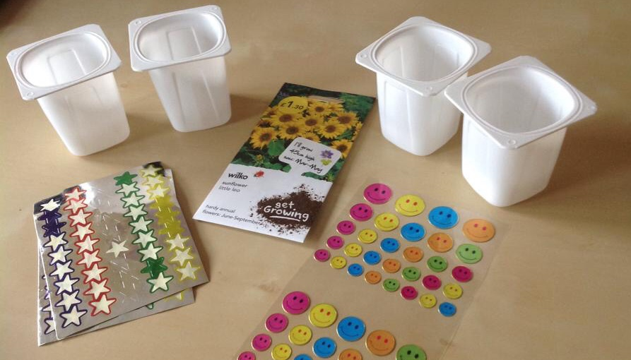 Planting seeds - Nature Based Toddler Group Activities