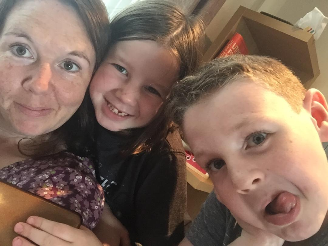 Ways my kid's are like me - mother son and daughter