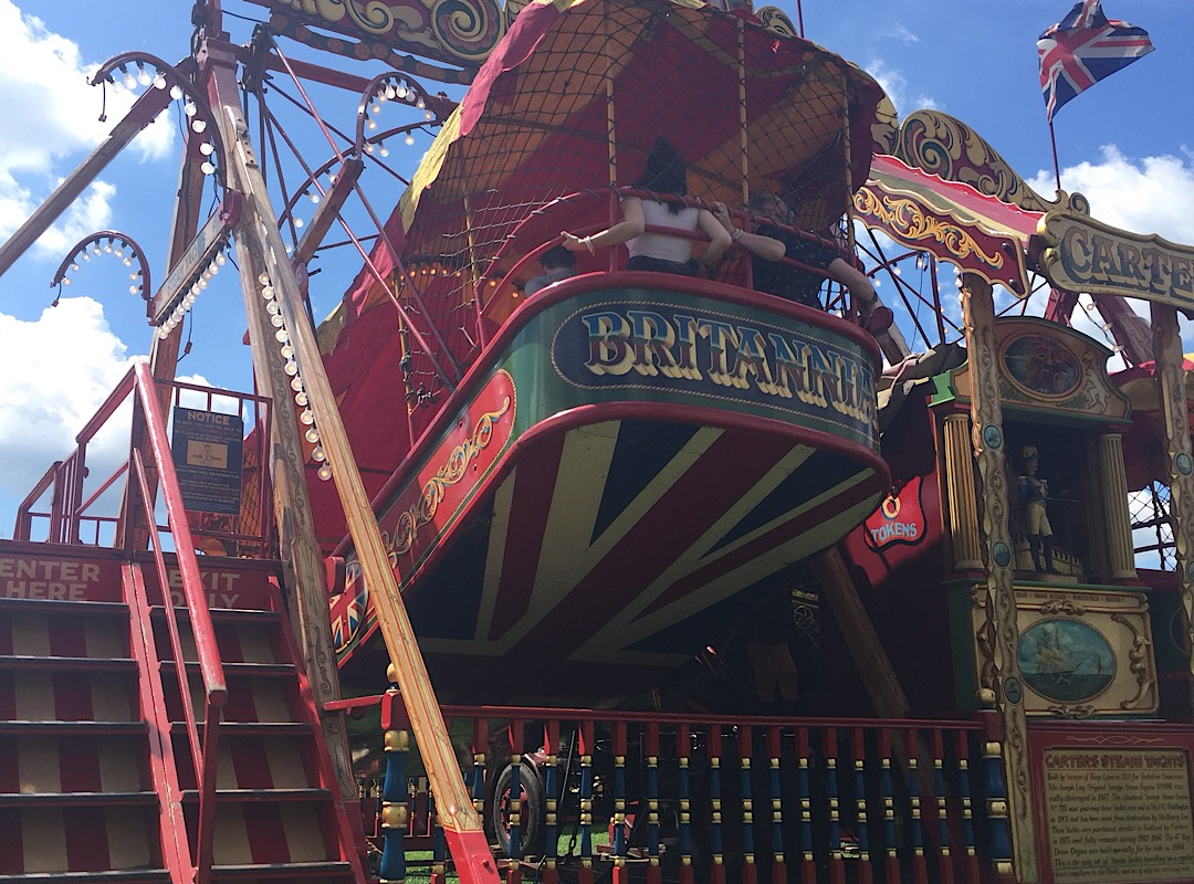 The steam yachts at Carters steam fair