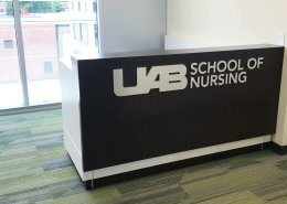 Custom Desk for UAB