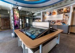 Columbus Georgia Visitor Center Smart Table