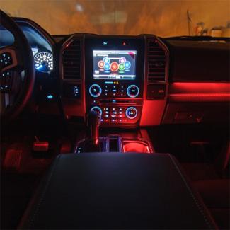 interior lighting methode automotive