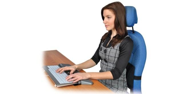 coussin dos pour chaise de bureau
