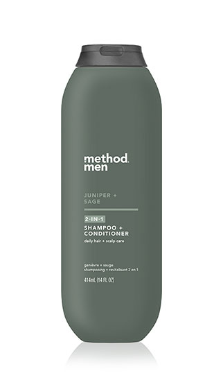 2-in-1 shampoo + conditioner