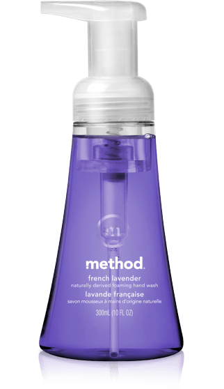 method foaming hand wash