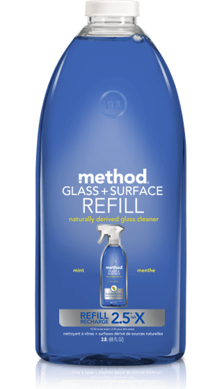 glass surface cleaner refill