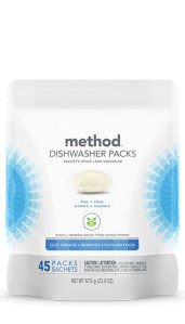 Free + Clear Dishwasher Pack 45 pack front