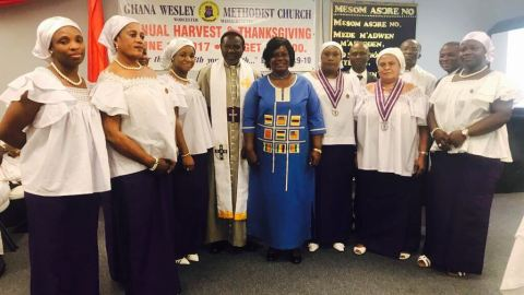 The Presiding Bishop With North America Mission