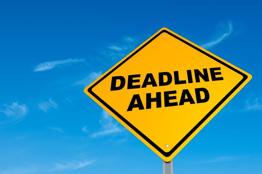 UDI Deadline Approaching