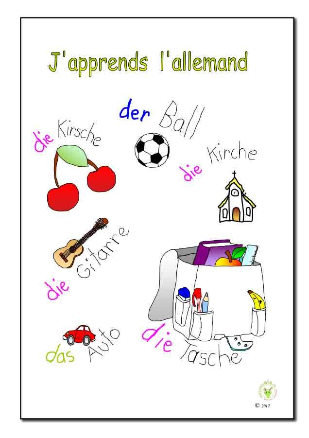 Brochure allemand eleve