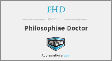 philosophiae doctor