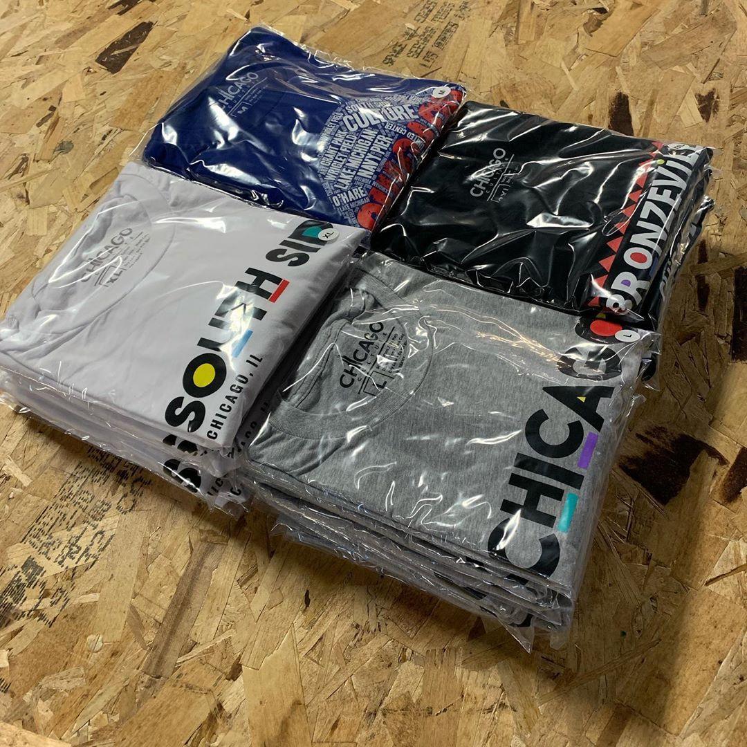Custom Printed T-Shirt Folding and Bagging