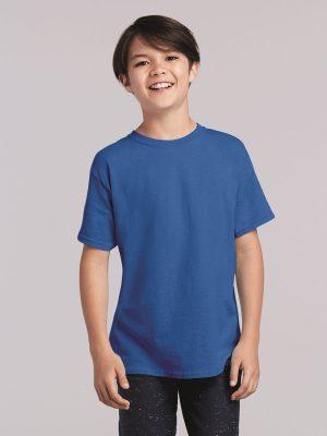 Method Chicago Screen Printing - Gildan Youth Cotton Short Sleeve Shirt