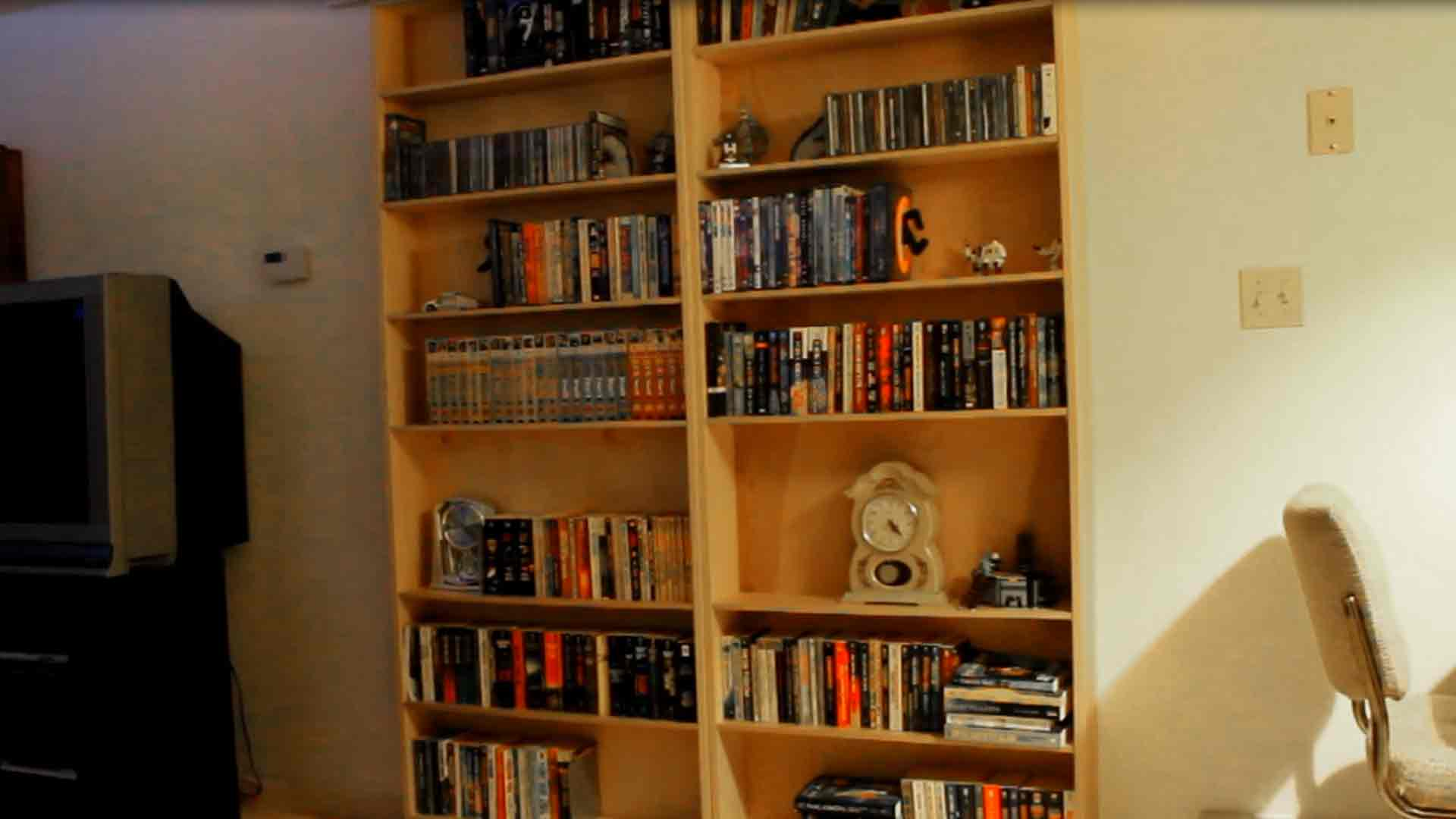 How To Make Automatic Secret Bookcase Doors