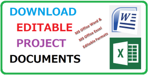 download editable project documents