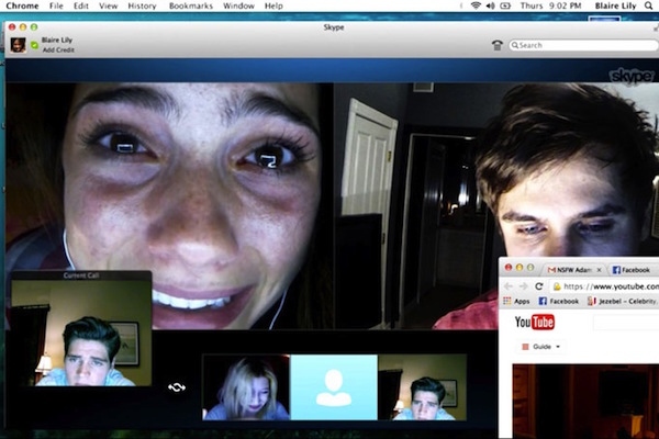 unfriended-skype and youtube