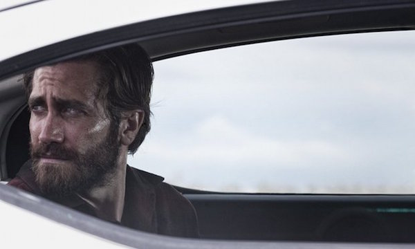 Jake Gyllenhaal sitting in a car in Nocturnal Animals