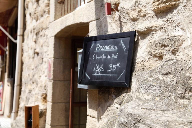 wine bottles for sale in france