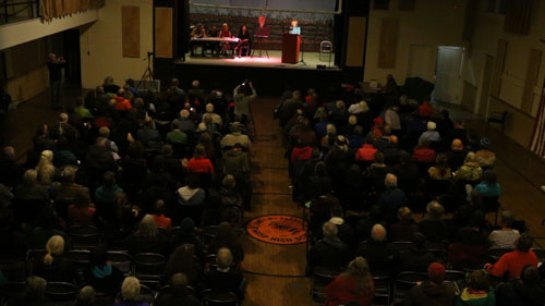 Town Hall Meeting -Twisp, Washington