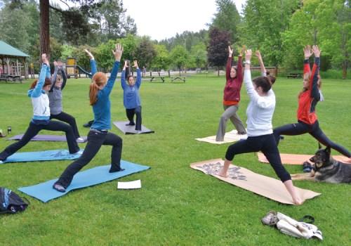 Yoga-post