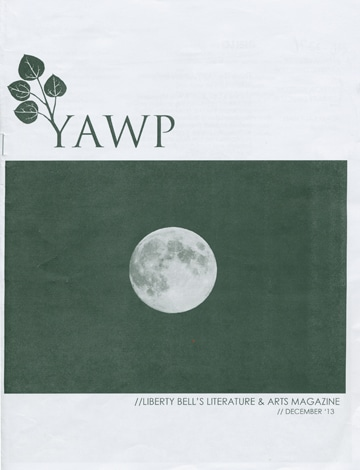 The cover of the first edition of Yawp.