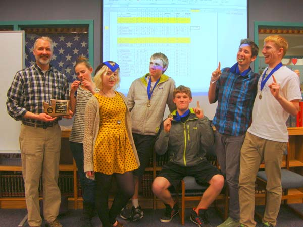 2014 Knowledge Bowl Team