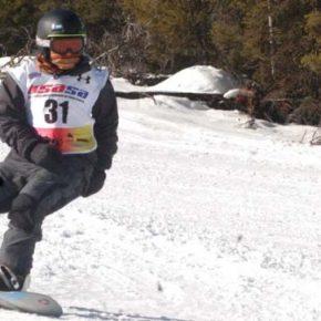Stiles, Shull lead Loup Snowboard Races