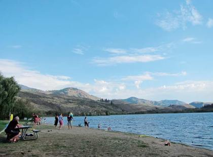 Campground reservations are filling up fast at Pearrygin Lake. File photo by Don Nelson