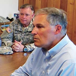Inslee confident area will qualify for FEMA aid