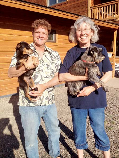 Rover's Ranch Kennels accepted refugee dogs during the power outage. Photo by Sally Gracie