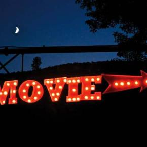 See movies outdoors at Celestial Cinema