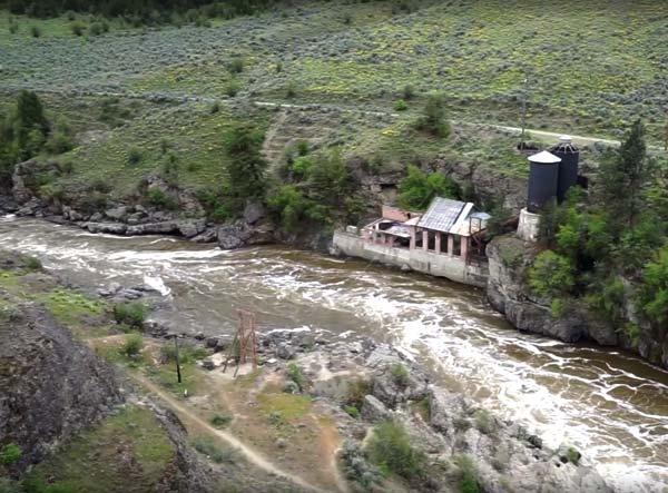 Photo courtesy of Washington Trust for Historic Preservation The Enloe Dam powerhouse is critically endangered, according to the Washington Trust for Historic Preservation.