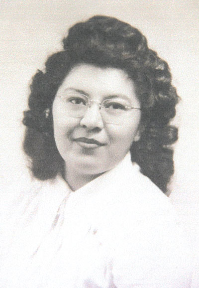 Photo provided by Chuck Borg, courtesy of the Miller Family Mary Miller Marchand's Pateros High School graduation photo.