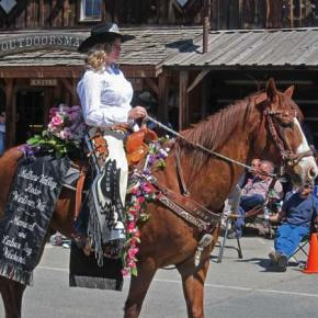 Rodeo queen Carlee Wright is looking forward to her reign