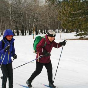 Extra ski tracks being groomed for blind, mobility-impaired skiers visiting next week