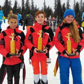 Loup Loup Alpine Ski Team has a great weekend at annual Wolf Chase Race