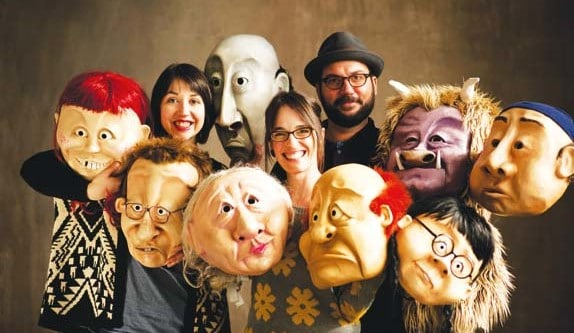 Photo courtesy of the Wonderheads The Portland-based Wonderheads theater troupe will perform at the Winthrop Barn on April 23.