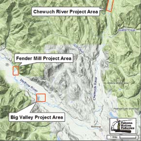 Three salmonhabitat projects getunderway this summer