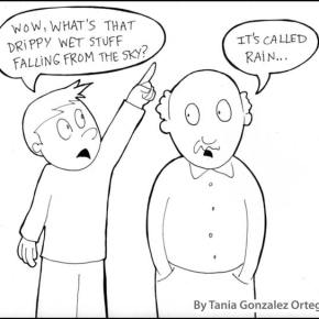 Rain? What's that?