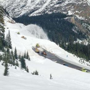 North Cascades Highway may open next week