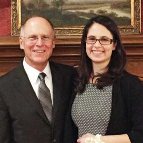 Med school student Phoebe Jensen wins prestigious award