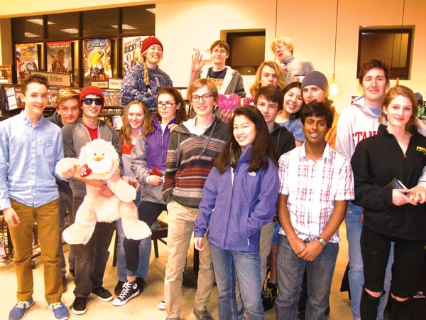 Photo courtesy of Leverett Hubbard Members of the Liberty Bell Knowledge Bowl team competed in Chelan on Feb. 8.
