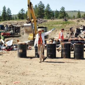 Metal drive a big success for Methow Recycles