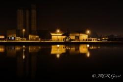 Night on the Docks