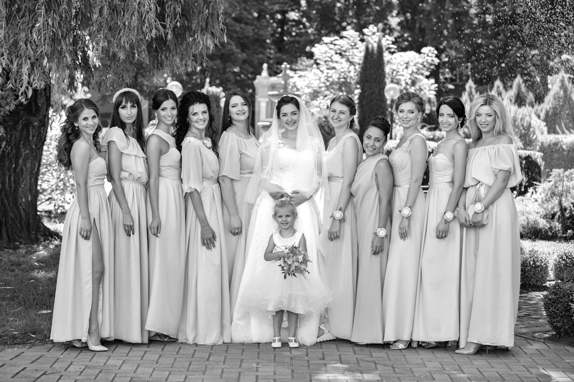 CANON WEDDING BRIDESMAIDS WITH BRIDE PHOTO AWARDS 003420 (Custom)