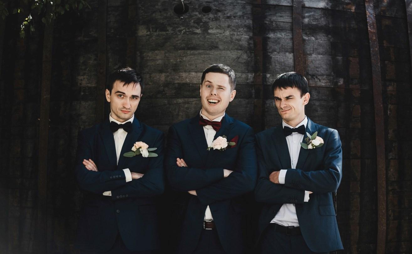 WEDDING BEST MAN BEST MEN WITH GROOM (1) 007154 (Custom)