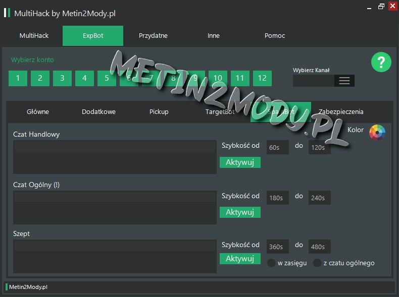 Spam Bot Metin2