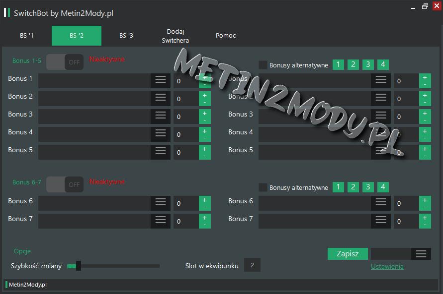 Switch Bot Metin2